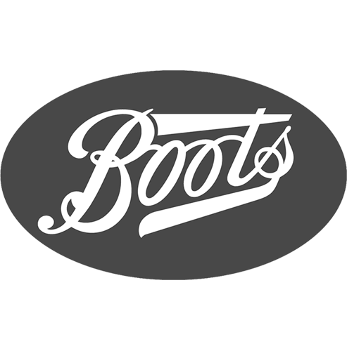 Boots Logo in black & white