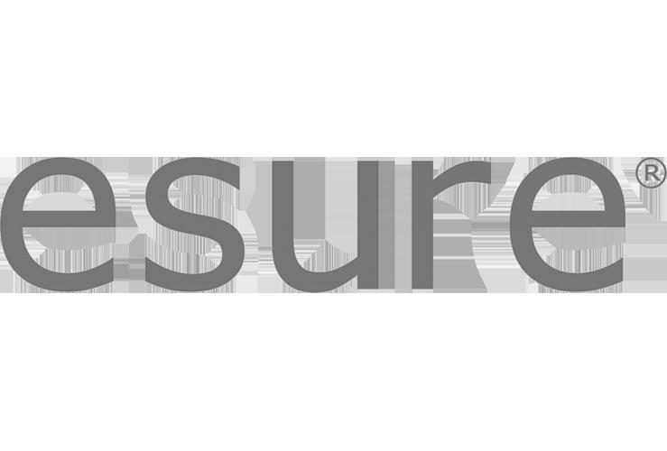 Esure Logo in black & white
