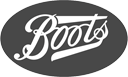 Black and White Boots Logo