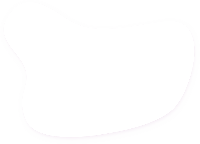 An image of a white blob